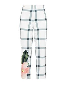 Anmari Secret Trellis cropped trousers
