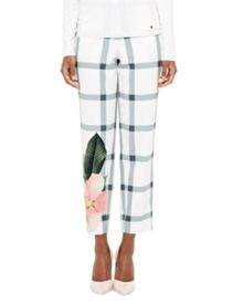 Ted Baker Anmari Secret Trellis cropped trousers