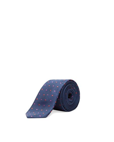 Ted Baker Spotlit Spotted Silk Tie