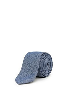 Flash silk-blend tie