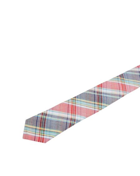 Ted Baker Prism checked woven silk tie
