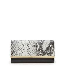 Ted Baker Jerry Snake print bar matinee purse