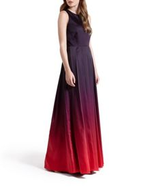 Yumie Open back maxi dress