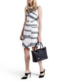 Ted Baker Winslet Check print wrap dress