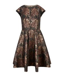 Laurey Floral jacquard dress