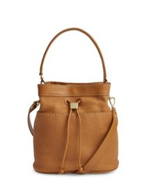 Kashia Stab stitch leather bucket bag