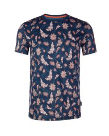Bishy Leaf Print T-Shirt