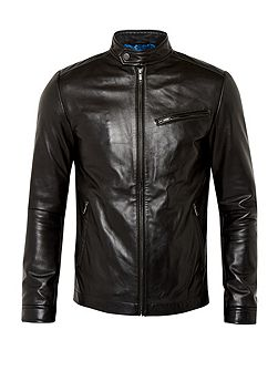 Men's Ted Baker Upside leather jacket