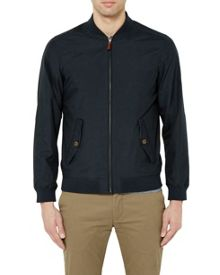 Ted Baker Sailors Microfibre Bomber Jacket