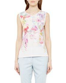Ted Baker Samata Hanging Gardens V-neck top