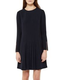 Ted Baker Caara Pleat detail dress