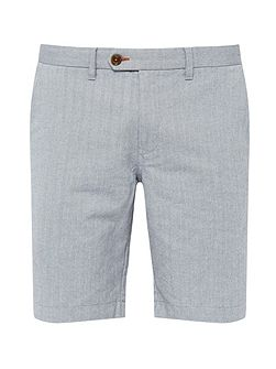 Catsear herringbone oxford shorts