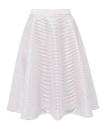 Ted Baker Alishia Mesh ribbed full skirt