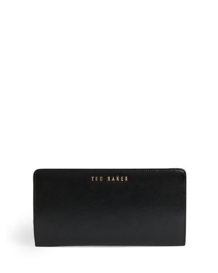 Ted Baker Alaniy crosshatch leather matinee purse