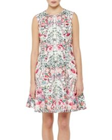 Ted Baker Layered Bouquet Full Skirt Dress