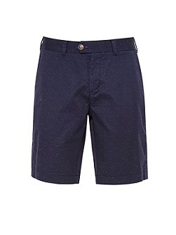 Funtess jacquard spotted chino shorts