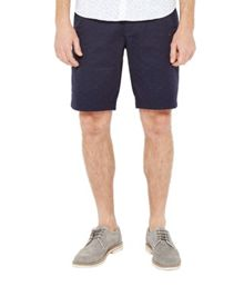 Ted Baker Funtess jacquard spotted chino shorts