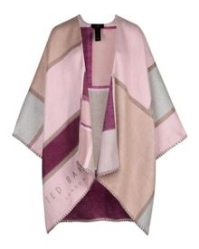 Ted Baker Mondi Check scarf cape
