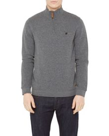 Ted Baker Zaybeck quilted funnel neck jumper