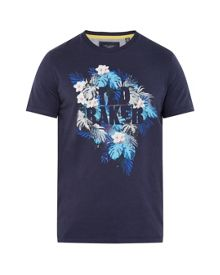Ted Baker Voltay tropical graphic t-shirt