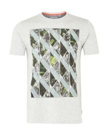 Ted Baker Balbowa triangle graphic t-shirt