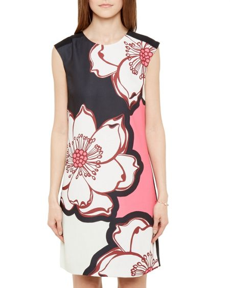 Ted Baker Caeley Tribal Floral Print Dress