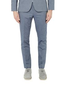 Ted Baker Bigtro Mini Design Cotton Trousers