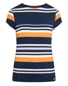 Ted Baker Gelise Tribal Stripe cotton T-shirt