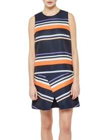 Ted Baker Damica Tribal Stripe fold tunic dress