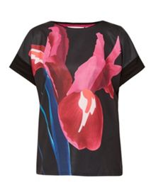 Ted Baker Basula Stencilled Stem T-shirt