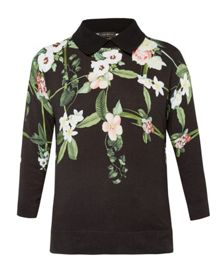 Ted Baker Nellia Secret Trellis collar sweater