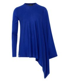 Janila Asymmetric draped jumper