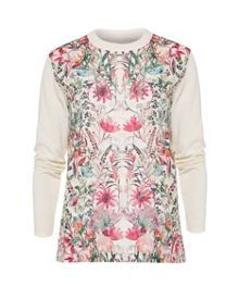 Ted Baker Rayshel  Layered Bouquet sweater