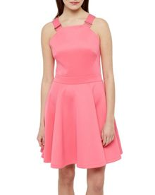Ted Baker Jaimie Buckle Detail Skater Dress