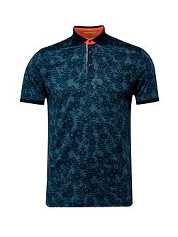 Men's Ted Baker Bopp floral print polo shirt