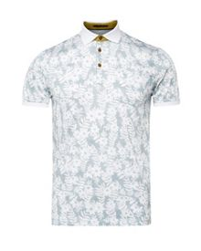 Ted Baker Bopp floral print polo shirt