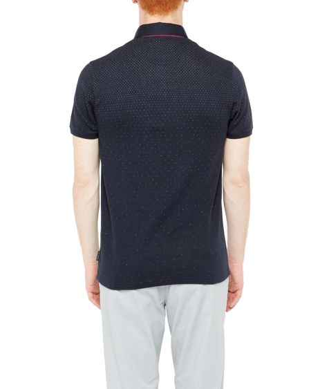 Ted Baker Regstep ombre polo shirt