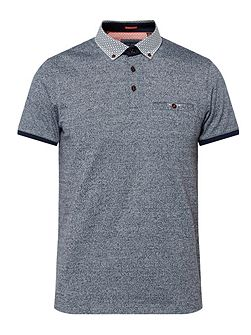 Men's Ted Baker Zoomba Woven Cotton Polo Shirt