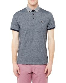 Ted Baker Zoomba Woven Cotton Polo Shirt