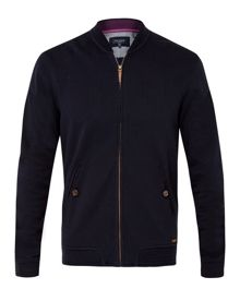 Ted Baker Cotton-blend bomber jacket
