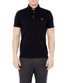 Ted Baker Piccalo Textured Knit Polo Shirt