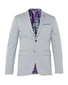 Ted Baker Popping Linen Herringbone Jacket