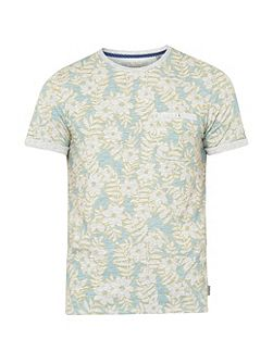 Rootz floral cotton t-shirt