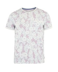 Ted Baker Rootz floral cotton t-shirt