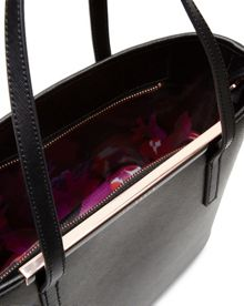 Ted Baker Marela Crosshatch leather shopper bag