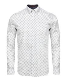 Wenfarh ornate geo print shirt