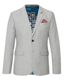 Ted Baker Bigband Design Cotton Blazer
