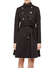 Ted Baker Madey Double Breasted Trench Coat