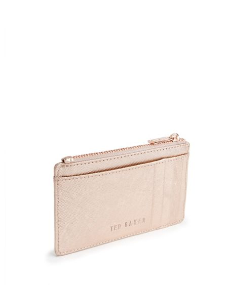 Ted Baker Kinlay Crosshatch coin purse