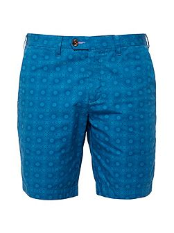 Men's Ted Baker Geo print cotton shorts